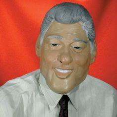 Clinton Costume Mask @ niftywarehouse.com #NiftyWarehouse #Halloween #Scary #Fun #Ideas