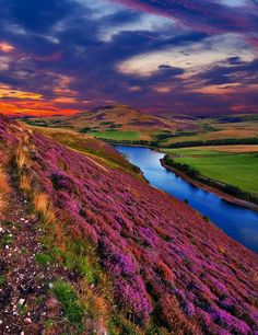 The Pent Hills, Scotland