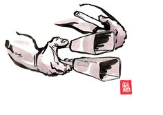 """Encres : Capoeira – 485 """"Agogo"""" [ #capoeira #watercolor #illustration]"""