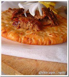 Syntages...apo spiti: Ντονέρ (Γύρος από κιμά) Greek Recipes, My Recipes, Recipies, Healthy Recipes, Healthy Foods, The Kitchen Food Network, Food Network Recipes, Pork, Food And Drink