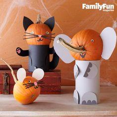 Tuffy Titan pumpkin!