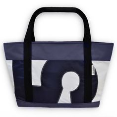 Zippered Sailcloth Tote ellavickers.com