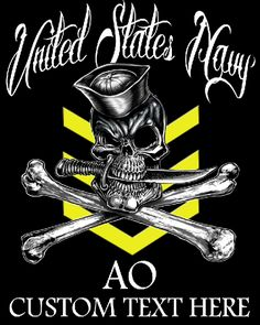 Boatswain's Mate 3rd Class Navy Rate Shirt $19.95