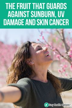 <p>We all need a little sunshine in our lives. It's an important source of vitamin D. Get too much sun, though, and UV damage can lead to premature aging and skin cancer. But there's a tasty way to give yourself an extra layer of sun protection and guard against sunburn…</p>