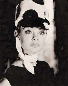 Jean Shrimpton photographed by Norman Parkinson.