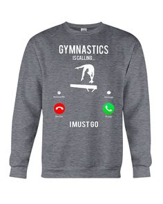 Gymnastics is Calling i must go. Funny Gymnastics Quotes, Inspirational Gymnastics Quotes, Gymnastics Wear, Gymnastics Skills, Gymnastics Poses, Amazing Gymnastics, Gymnastics Outfits, Gymnastics Pictures, Gymnastics Workout