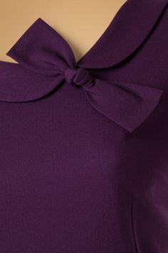 Daisy Dapper Megan Pencil Dress in Purple 19507 20160719 019 Black Hoco Dresses, Sexy Dresses, Fashion Dresses, Prom Dresses, Pencil Dress, Real Women, Dapper, Retro Vintage, Daisy