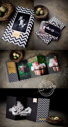 4x8 Accordion Books are not just the perfect client gift for senior sessions, family sessions, boudoir or weddings. They are are suitable for ALL types of photography! ||| Baby Chevron 4x8 Accordion Book - http://store.millerslab.com/collections/ew-couture/products/mt50-1112
