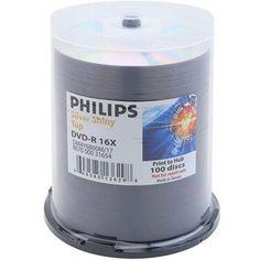 PHILIPS DVD-R 16X 4.7GB Shiny Top Metalize Hub Cake Box 100pk # DM4Y6B00M/17 by Philips. $24.36. PHILIPS DVD-R 16X 4.7GB Shiny Top Metalize Hub Cake Box 100pk # DM4Y6B00M/17