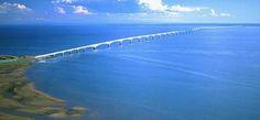 #Puente La Confederación,el más largo del mundo en aguas congeladas, casi 13 km. #Canadá. vía Twitter @structuralia