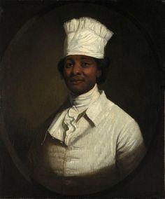 Gilbert Stuart (1755-1828), Portrait of George Washington's Cook (1797)