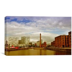Canvas print of an image of the lovely building the pumphouse in the albert dock in Liverpool merseyside Art For Sale, Liverpool, Art Pieces, Canvas Prints, Building, Image, Photo Canvas Prints, Buildings, Artworks