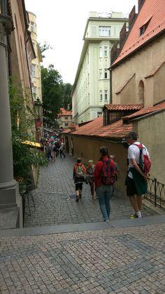 Barrio judio de praga, callejeando