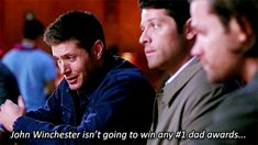 Understatement of the century 10x09 The Things We Left Behind
