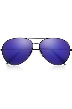 eb391857221ba1 Victoria Beckham Classic Aviator Mirrored Sunglasses. - August Lust List   summer  VictoriaBeckham