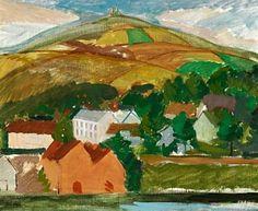 Image result for norwegian landscape painting