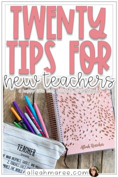 Check out these tips for starting your school year as a new teacher. New teacher must haves, supplies, organization, and other ideas for making the year amazing! Education 20 Tips for New Teachers 1st Year Teachers, First Year Teaching, Primary Teaching, Teaching Jobs, Student Teaching Outfits, Student Teaching Binder, Teachers College, Teaching Quotes, College Tips