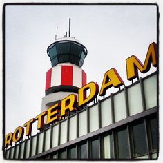 Rotterdam The Hague Airport (RTM) in Rotterdam, Zuid-Holland
