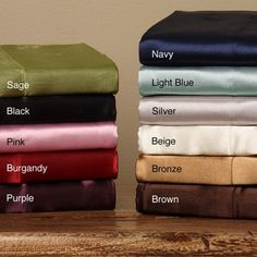 @Overstock - You will never get out of your bed again with these queen-size silky satin sheets. Offered in a myriad of colors, these sheets have an elegant design that exudes quality. Truly a treat, everyone needs one set of satin sheets to know the satisfaction.http://www.overstock.com/Bedding-Bath/Silky-Satin-Queen-size-4-piece-Satin-Sheet-Set/6200931/product.html?CID=214117 $36.99