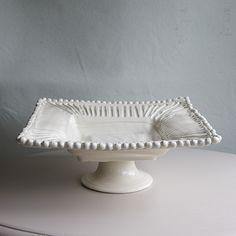 Square Pedestal Bowl | Frances Palmer Pottery