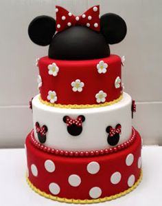 Minnie #Cake #Cakedesign