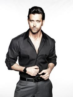 Hrithik Roshan ~ 28 Pictures in all and so hard to choose 1 or 2 to pin. Gorgeous Men, Beautiful People, Indian Man, Hrithik Roshan, Bollywood Stars, Hollywood Celebrities, Perfect Man, My Idol, Actors & Actresses