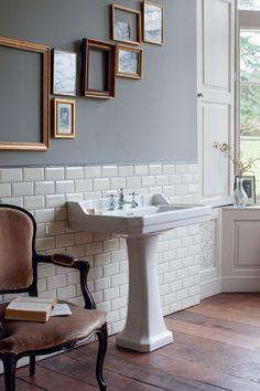Edwardian: lavabo con colonna