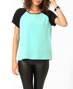 Relaxed Raglan Sleeve Top | FOREVER21 - 2000049602