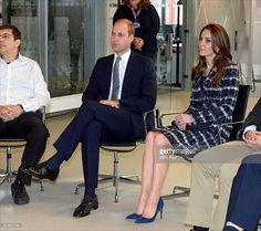 Prince William, Duke of Cambridge and Catherine, Duchess of Cambridge visit the National Graphene Institute at the University of Manchester during a visit to Manchester on October 14, 2016 in Manchester, England.