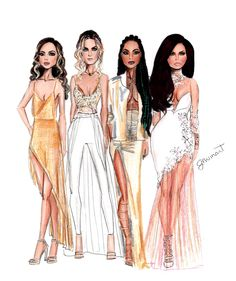Little Mix looking stunning at Brits 2016