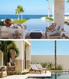 Beautiful beach villa in the British West Indies