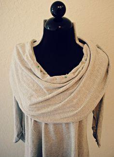 Trash To Couture: DIY: Convertible Collar