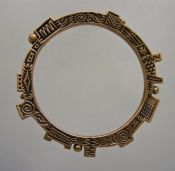 """Merle"" Bronze Bangle - Finished Jewelry - Barbara Becker Simon - Lampwork beads, jewelry Metal clay jewelry instruction"