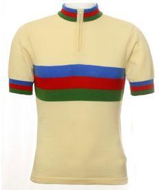 jura cycling merino jersey ss ecru back