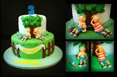 Phineas and Ferb  Cake by SliceOfSweetArt