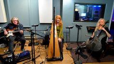 Loreena in the studio