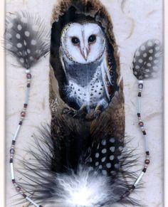 native painted feathers | Linda Anderson - Okanagan Native Artist