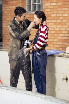 질투의 화신 : 통합검색 : SBS Jealousy Incarnate, Go Kyung Pyo, Tv Series 2013, Gong Hyo Jin, Jung Suk, Drama Memes, Me Tv, Funny Faces, Fangirl