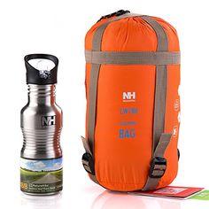 YAAGLE Super leicht Briefumschlag Schlafsack Klimaanlage-Deckbett Schlafsack wie Baumwolle Trekking Schlafsack kleine Gr��e-orange