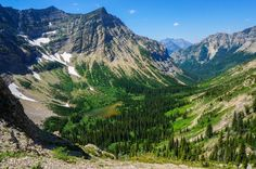 Hike to Crypt Lake Photo by Jeannie Tobin -- National Geographic Your Shot