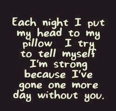 Still counting the days. One day the count will end and I will no longer care how many days its been Break ups can be difficult to accept