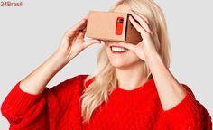Google já vendeu mais de 10 milhões de unidades do Carboard, o óculos VR de papelão