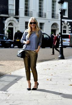 Outfit: Strike gold | This chick's got style // black heels