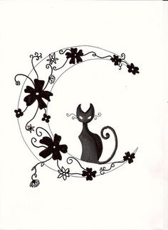 possible tattoo but just the cat