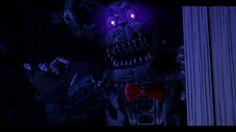 Nightmare Bonnie Fnaf 4, Fnaf Characters, Five Nights At Freddy's, Madness, Horror, Darth Vader, Bandy, 3d, Random Stuff