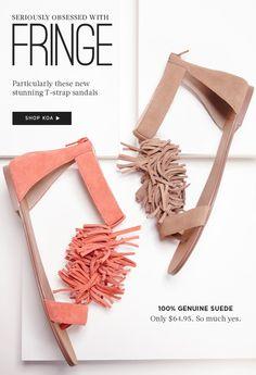 The Fringe Sandal