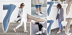 Baleriny na obcasie - trend na wiosnę 2016 | Temat Moda