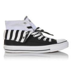Women's Converse Chuck Taylor 2 Fold Hi Black/White | Shoe Carnival