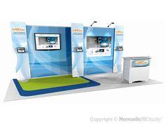 20' DesignLine Low Cost Modular Inline - DL71244N - Trade Show Booths