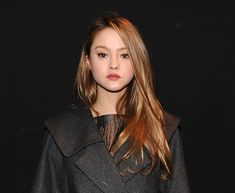 All images Getty.American model-turned-actress Devon Aoki has the most beautiful long blonde hair. What's more, she's not afraid to experiment with it, wearing it up in some of the loveliest and fre. Devon Aoki, Diane Lane, Formal Hairstyles, Tumblr Girls, Prom Hair, Pretty People, Most Beautiful, Beautiful Women, Blonde Hair